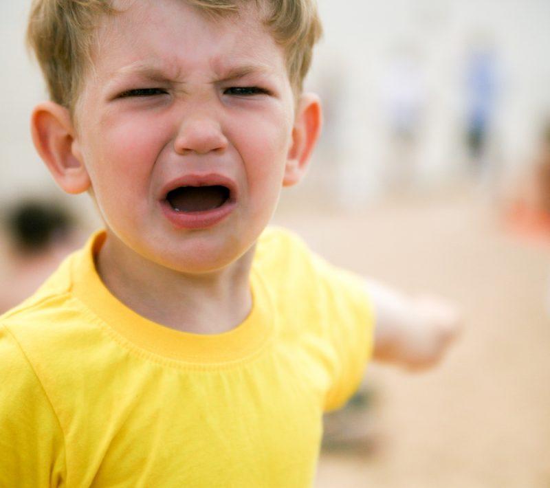 psicologia infantil en Valencia - rabieta niño